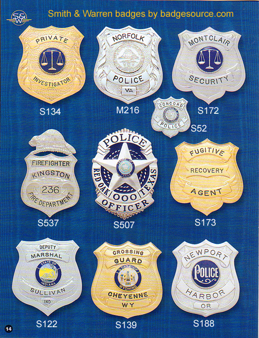 badges for police