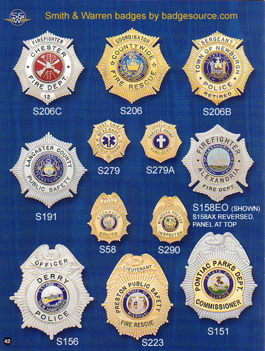 Maltese Cross badges