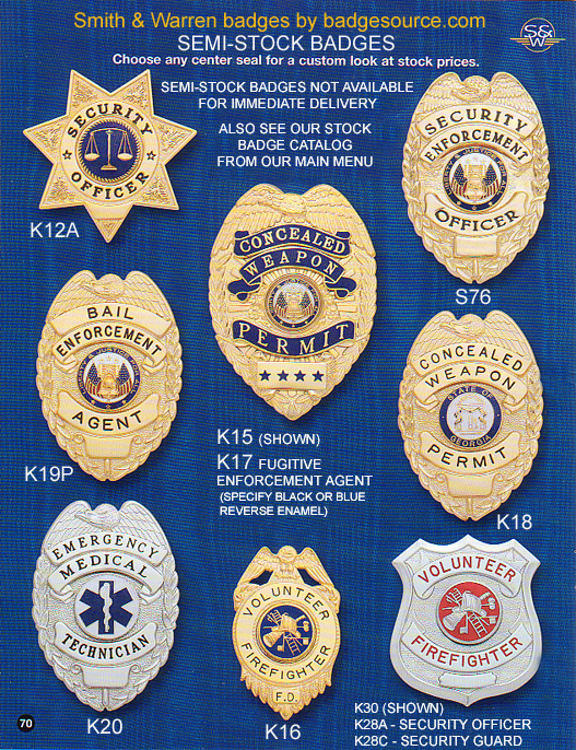 Semi-Stock badges