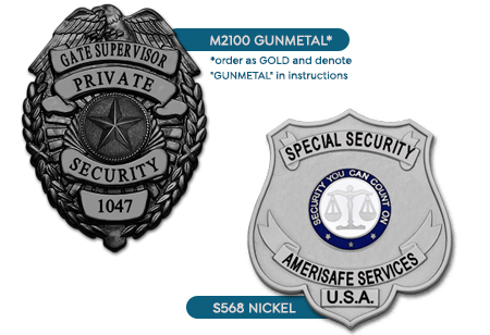 Badges for the Security Professional